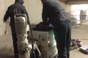 Automatisch mixen en verpompen bij grotere oppervlakken