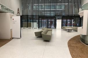 Epoxy terrazzo in Ziekenhuis Leuven