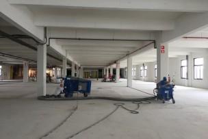 Met beperkt gewicht frezen, etagevloer <500kg/m²