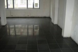 FASE III: Granietvloer is gepolijst