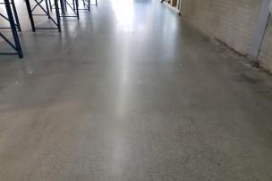 Beton InTelliFloor werkplaats renovatie