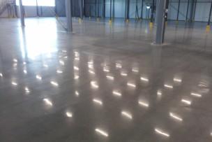 Verregende betonvloer naar InTelliFloor
