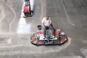 Micropolijsten betonvloer Fastgrind, Trowelpolish, Concria