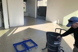 Handmatig mixen en transport in kleinere ruimtes