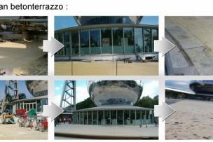 Productie beton terrazzo granito